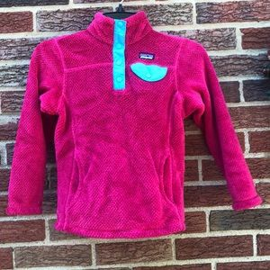 Patagonia Re- Tool Snap T Pullover size Small 7-8